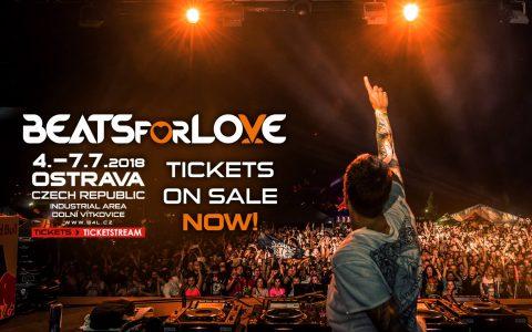 První vlna vstupenek na Beats for Love 2018 byla vyprodána za 12 minut