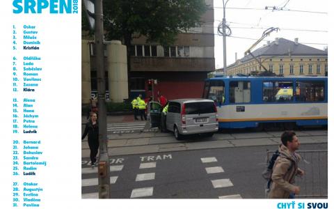 Chyť si svou tramvaj - srpen