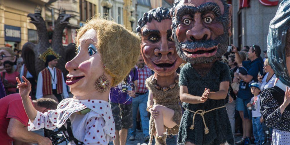 Centrum Ostravy žije Festivalem v ulicích