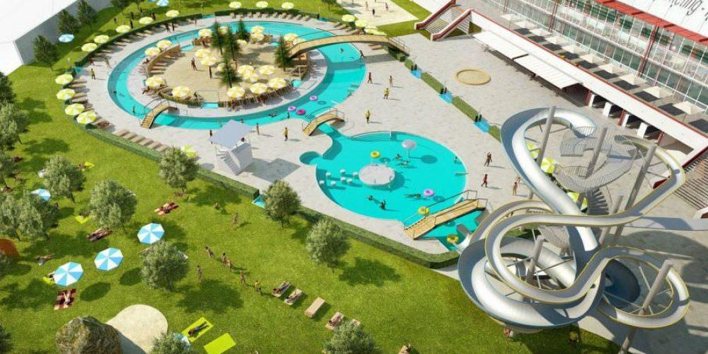 V Ostravě-Porubě se dokončují práce na venkovních bazénech