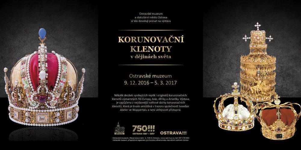 Korunovační klenoty z celého světa budou k vidění v Ostravě