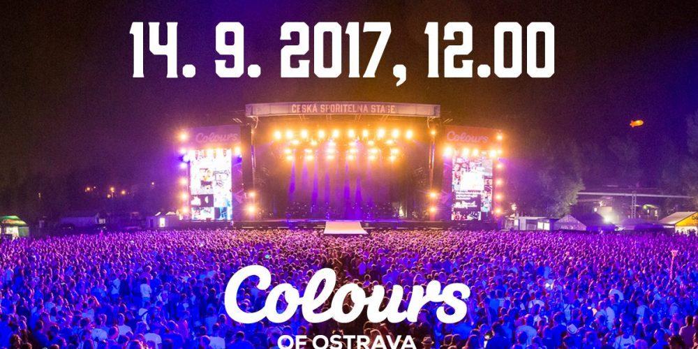 Dnes ve 12:00 začíná předprodej vstupenek na Colours of Ostrava 2018
