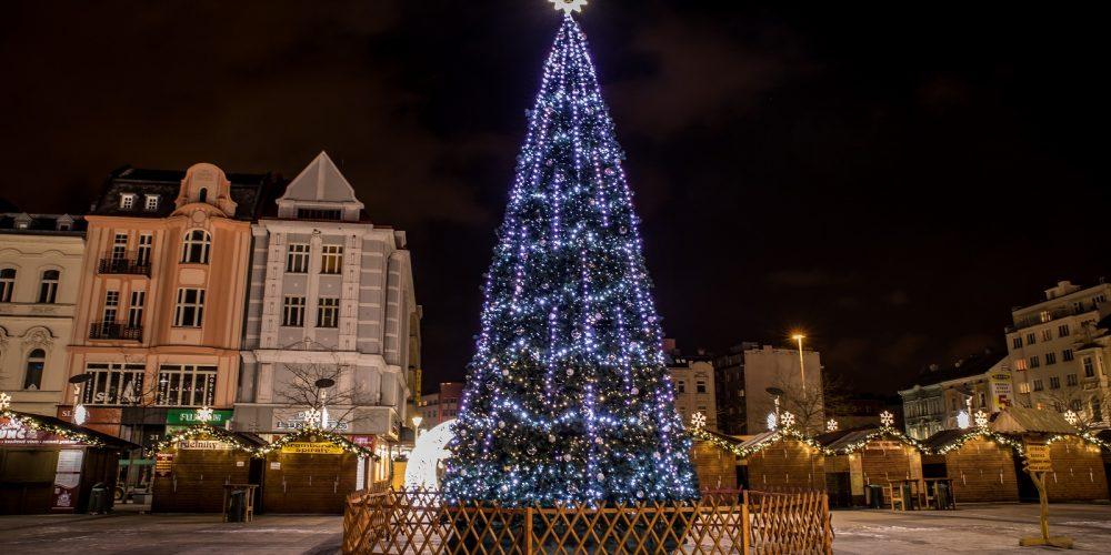 Program vánočních trhů v Ostravě