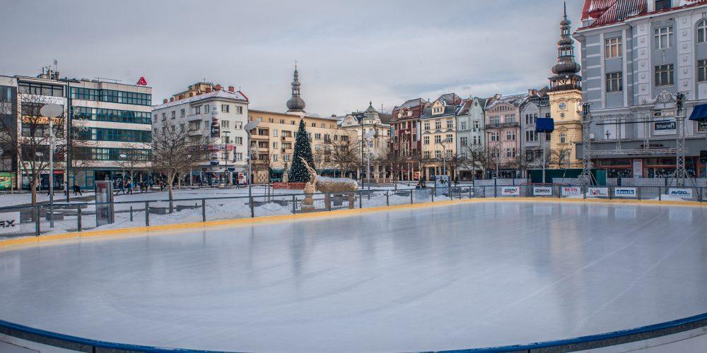 Na Masarykově náměstí vyroste Fan zóna Mistrovství Evropy v krasobruslení