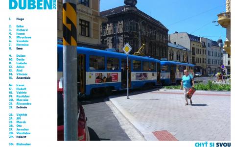 Chyť si svou tramvaj - duben