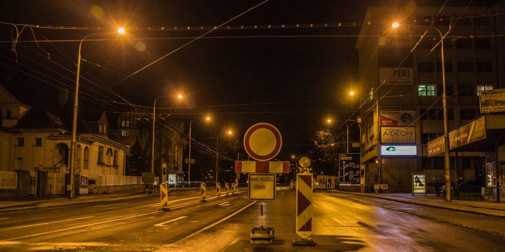 V Ostravě se tvoří dlouhé kolony kvůli novým uzavírkám
