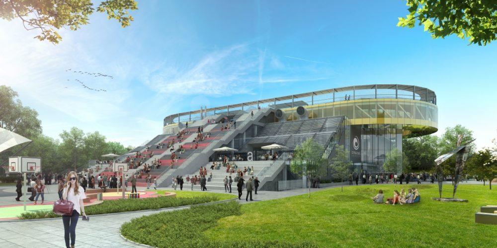 Město vybuduje poduniverzitním areálem naČerné louce podzemní parkoviště pro veřejnost