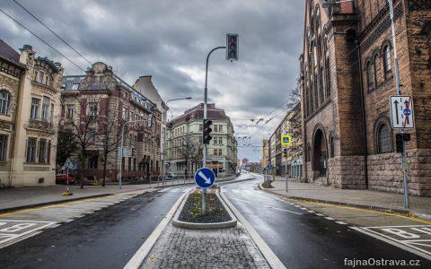 Českobratrská ulice se proměnila k nepoznání