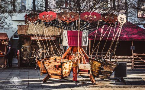 Program vánočních trhů v centru