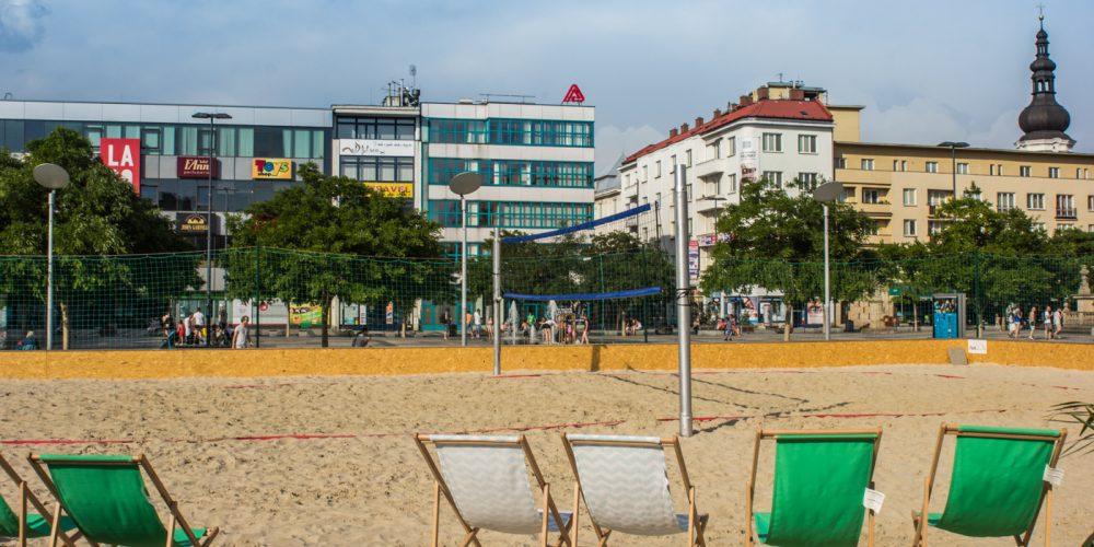 Písek v centru se vrací na Masarykovo náměstí :-)