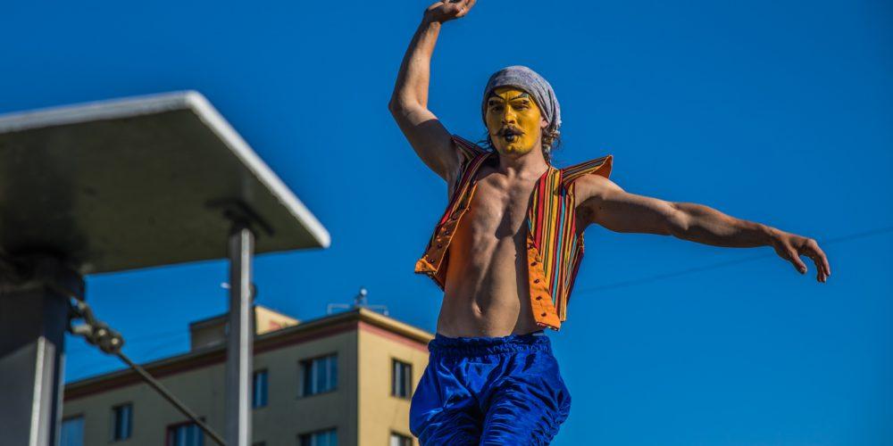 Poruba se proměnila ve slavný umělecký bulvár La Rambla
