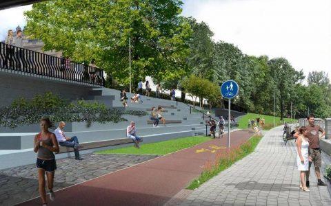 Slezský břeh Ostravice se promění v lokalitu pro relaxaci a sportování