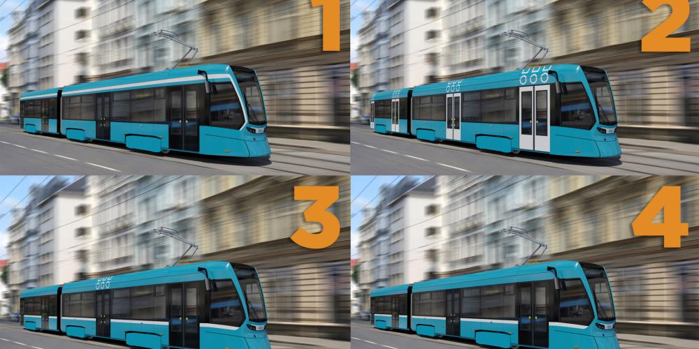 Vyberte vzhled a jméno novým ostravským tramvajím