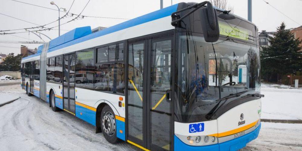 Škoda Electric dodá do Ostravy 12 nových klimatizovaných trolejbusů