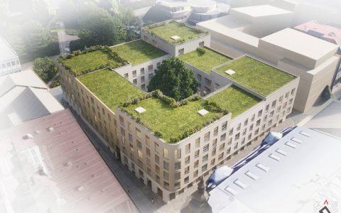 V centru Ostravy vzniknou v prolukách místo parkovišť nové bytové domy