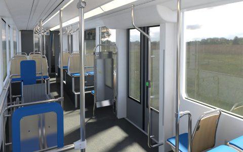 Podívejte se, jak bude vypadat interiér nOVE ostravské tramvaje od Stadleru