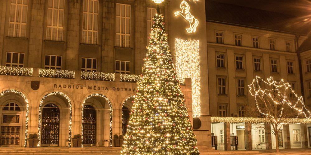 Vánočního strom před Novou radnicí rozsvítí primátor již v sobotu