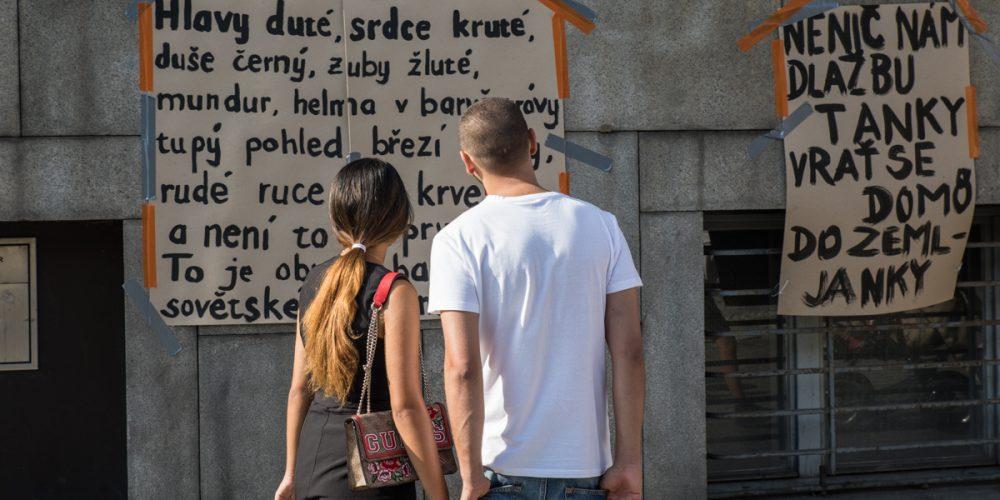 Ostrava se vrátila do roku 1968