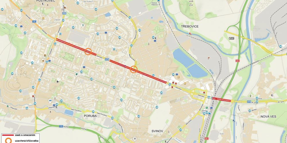 Řidiči obrňte se trpělivostí dnes začíná rekonstrukce  železničního mostu ve Svinově