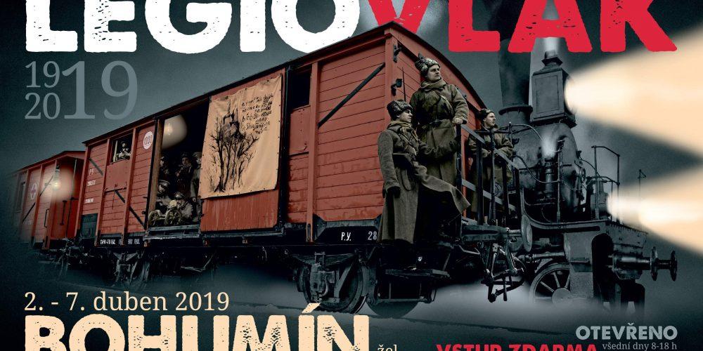 Do Bohumína přijel legionářský vlak
