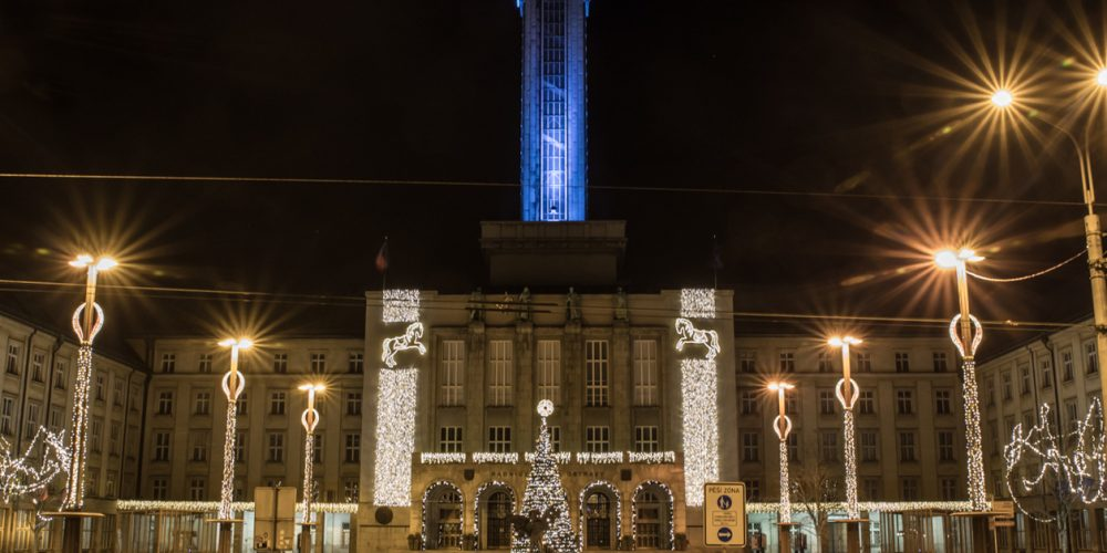 Vánoční výzdoba před radnici se naposledy rozzáří v pátek 6.ledna