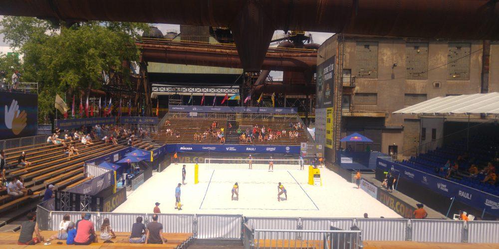 Dnes v DOV začíná beachvolejbalový turnaj J&T Banka Ostrava Beach Open