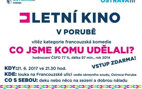 Letní kino v Porubě dnes zahájí francouzská komedie Co jsme komu udělali?