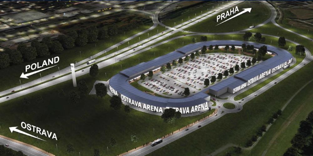 Zítra otevírá své brány Outlet arena Morava