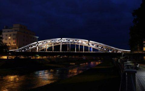 Ostrava nechá nově nasvítit most Miloše Sýkory