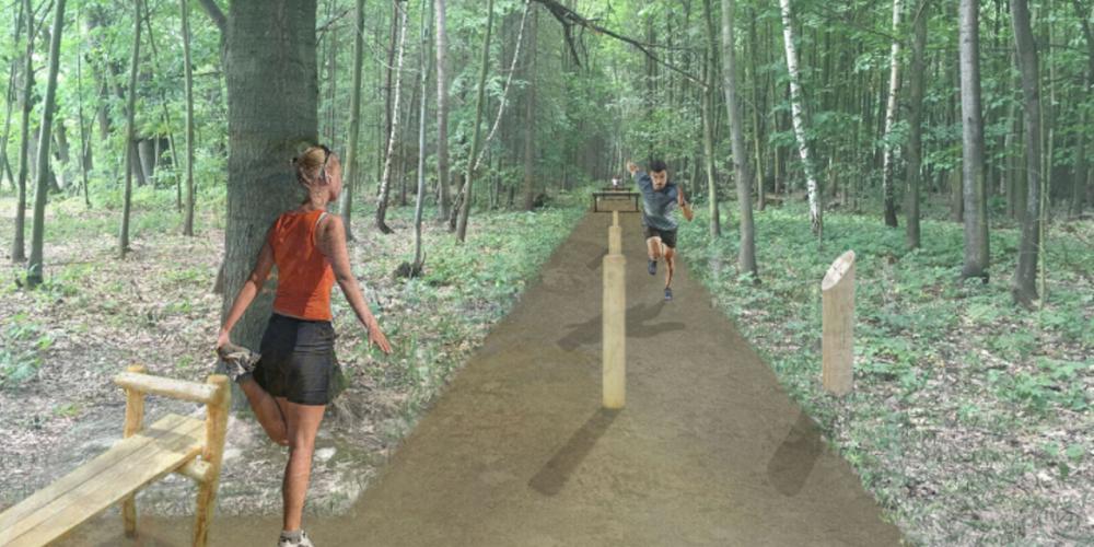V porubském lese bude vybudován 900 metrový běžecký okruh