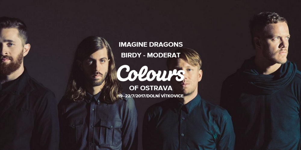 Hlavní hvězdou Colours 2017 budou Imagine Dragons