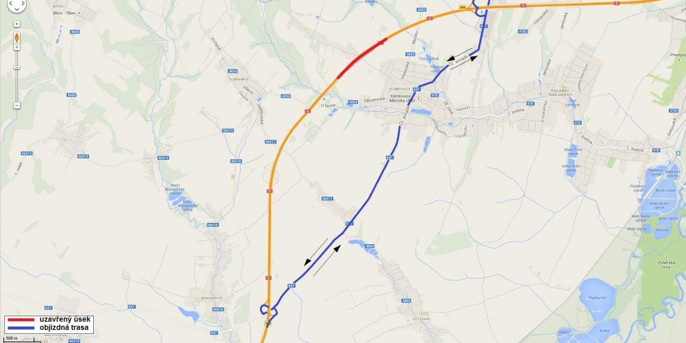 O víkendu bude uzavřen klimkovický tunel