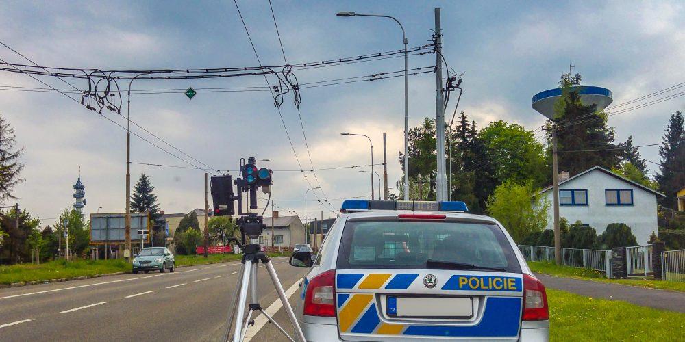 Řidiči pozor! Dnes probíhá policejní Speed marathon. Podívejte se, kde se měří.
