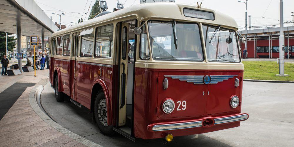 V sobotu se můžete v Ostravě projet historickými trolejbusy