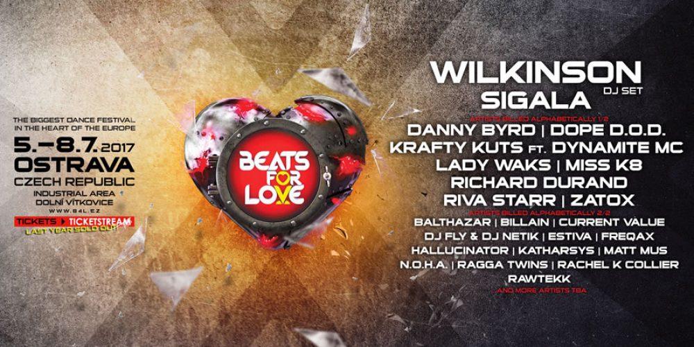 Takový byl festival Beats for Love 2017