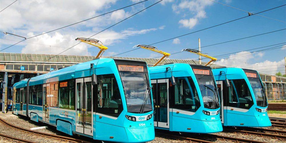 Dnes bylo nasazeno do ostrého provozu 20 nových tramvají Stadler nOVA