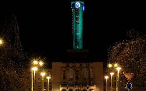 Ostravské dominanty budou o víkendu osvětleny zeleně