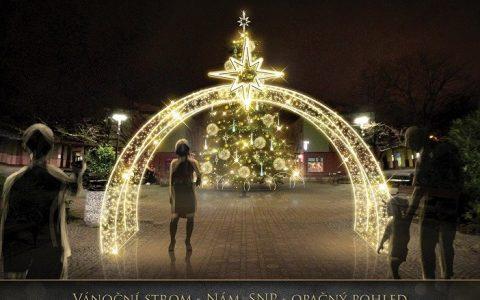 Slavnostní rozsvícení vánočních stromů v Ostravě
