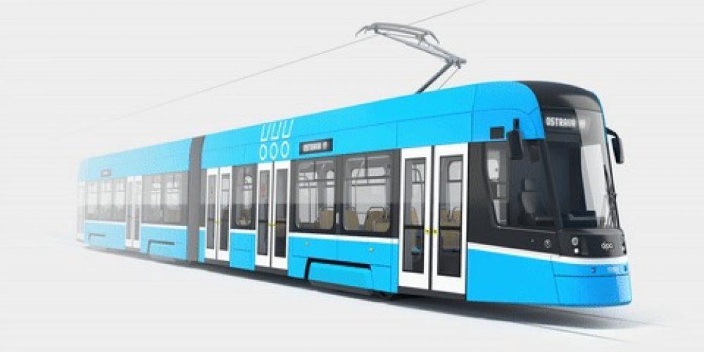 Dopravní podnik dnes představil podobu nových tramvají pro Ostravu