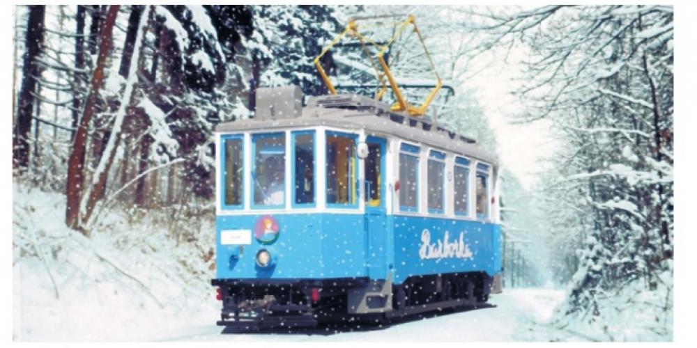 Historickou tramvají a motoráčkem přes Ostravu