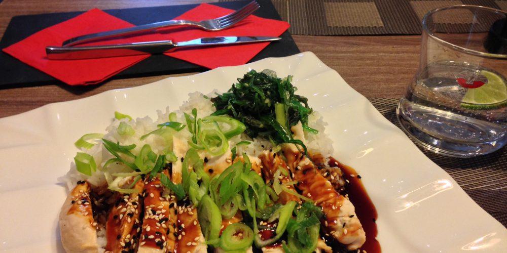 Zrzka vyrazila na polední menu do Samurai Grill & Sushi Baru